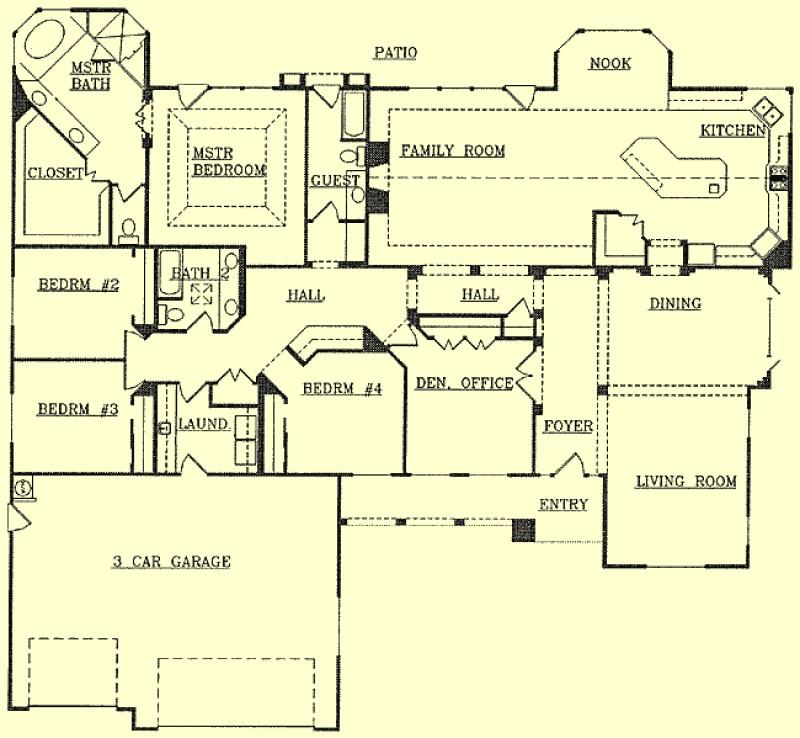 Northwest homes floor plan details for Northwest floor plans